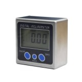0-360 Degrees Digital Inclinometer Mini Box Angle Gauge protractor Level Magnetic Base