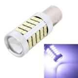 MZ 1156 12.6W 630LM 6500K White Light 2835 SMD 63 LED Car Brake / Steering Light, Constant Current, DC12-24V
