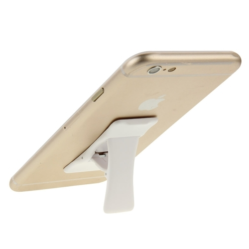 Universal Multi-function Foldable Holder Grip Mini Phone Stand for iPhone 6 & 6 Plus, iPhone 5 & 5S, Samsung Galaxy S6 / S5 / A7 / A5, HTC, Nokia, Sony (White)