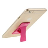 Universal Multi-function Foldable Holder Grip Mini Phone Stand for iPhone 6 & 6 Plus, iPhone 5 & 5S, Samsung Galaxy S6 / S5 / A7 / A5, HTC, Nokia, Sony (Magenta)