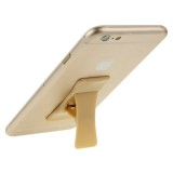 Universal Multi-function Foldable Holder Grip Mini Phone Stand for iPhone 6 & 6 Plus, iPhone 5 & 5S, Samsung Galaxy S6 / S5 / A7 / A5, HTC, Nokia, Sony (Gold)