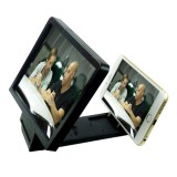Mobile Phone 3D Video Folding Enlarged Screen Expander Stand for iPhone 6 & 6 Plus, iPhone 5, Samsung Galaxy S6 / S5 / HTC / Nokia / LG / Xiaomi Mobile Phone (Black)