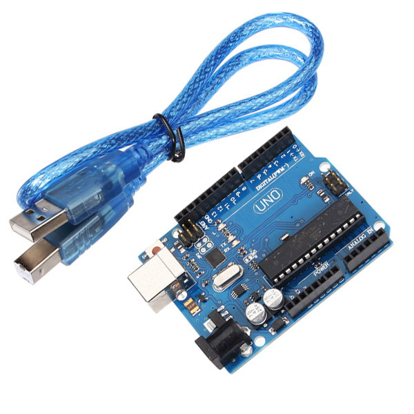 Uno r atmega p board with inch tft touch display
