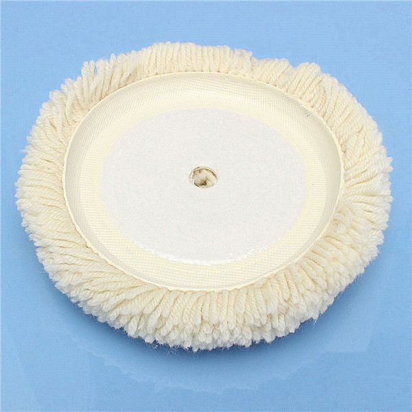 Wool Buffing Pad Wool Buffing Polishing Wheel Pad Auto Car Furniture Clean Tool
