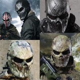 Airsoft Paintball Full Face Skull Mask Protection Outdoor Tactical Gear