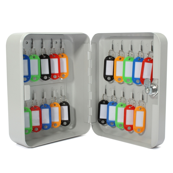 ... Wall Mount Security Key Cabinet Storage Box With Key Tag ·  SKU25348510 · SKU2534851 ...