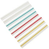 10pcs 1x40P 40Pin 2.54mm Straight Single Row Male Pin Header Strip