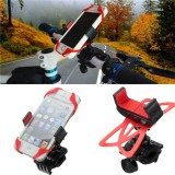 Universal Motorcycle Bike Handlebar Mount Holder Band For Cell Phone