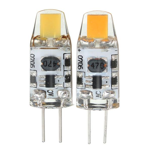 G4 1W COB Filament LED Spot light Bulb Lamp Warm/Pure White AC/DC 10-20V