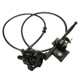 Rear Brake Master Cylinder With Caliper For ATV Quad 70CC 90CC 110CC 125CC 250CC