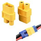 Amass XT60-E XT60 Male Plug To EC3 Female Converter Adapter Plug