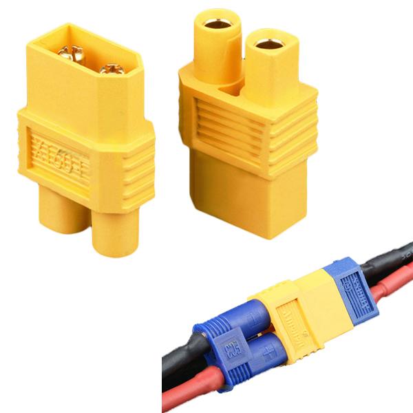 Amass XT60-E XT60 Male Plug To EC3 Female Converter ...