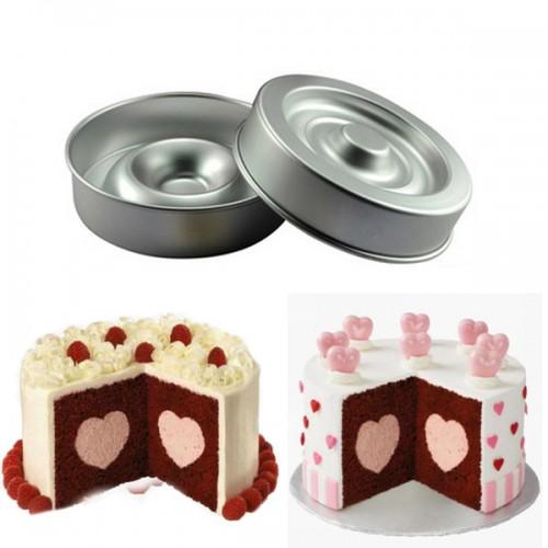 Heart Shape Layer Cake Pan Mold Aluminum Cake Pans