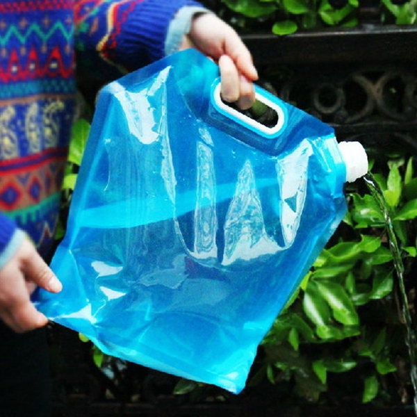 Portable Folding Water Bag Water Carrier Storage Lifting Bag Camping Outdoor 5L And 10L