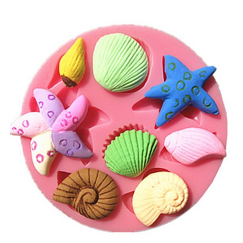 Seashell Mould For Cake Decorating