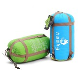 Outdoor Camping Hiking Envelope Sleeping Bag Folding Carrying Slumber Bag