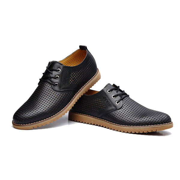 Men Breathable Plus Size Hollow-out Oxford Shoes outlet amazing price cheap good selling cost for sale find great cheap online 3QlwH