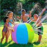 Summer Children's Outdoor Swimming Beach Ball Inflatable Ball Water Fountain Ball