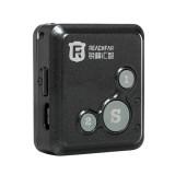 REACHFAR RF-V16 Real Time GSM Mini GPS Tracker GPRS Tracking SOS Communicator with Watch Wristband (Black)