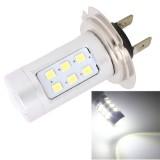 MZ H7 4.2W 630LM White Light 21 LED 2835 SMD Car Front Fog Light Lamp Bulb, Constant Current, DC 12-24V