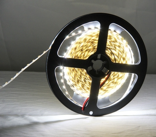 12W Bare Board White & Warm White Light LED 2835 SMD Rope Light, 120 LED/m, Length: 5m, Wide: 5mm