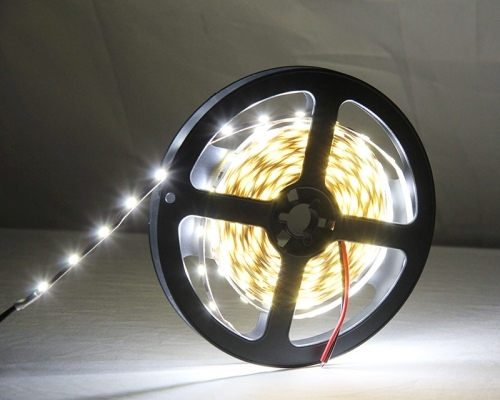 6W Bare Board White & Warm White Light LED 2835 SMD Rope Light, 60 LED/m, Length: 5m, Wide: 5mm