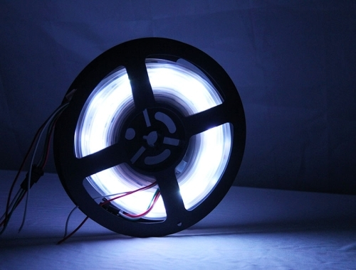 14W Bare Board White & Warm White Light LED 5630 SMD Rope Light, 60 LED/m, Single Board, Length: 5m, Wide: 8mm