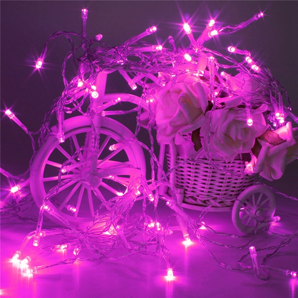 10M Battery Powered 100 LED Starry Fairy String Light Lamp Wedding Xmas Party Lamp