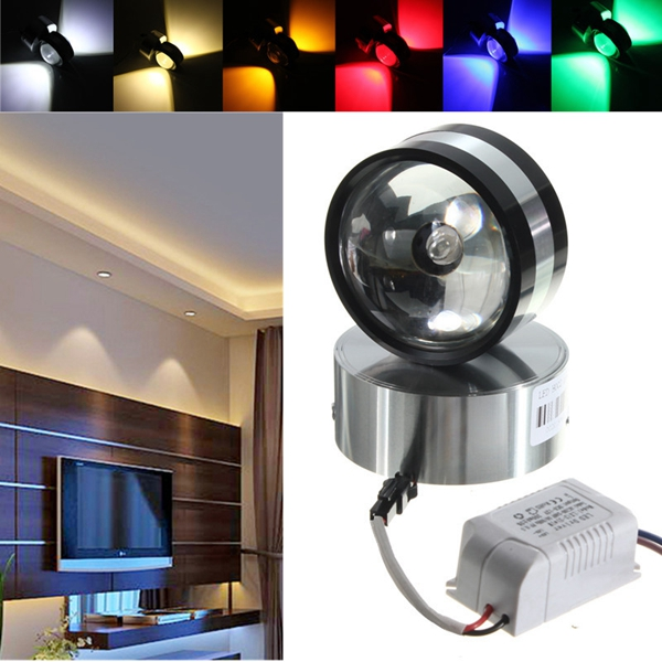 Crystal Ball Wall Lights : Modern Aluminum 2W LED Wall Lamp Light Crystal Ball Shape Indoor Room for Lighting Alex NLD