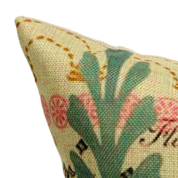 45X45cm Peacock Cotton Linen Pillow Case Square Cushion Cover Home Sofa Car Decor