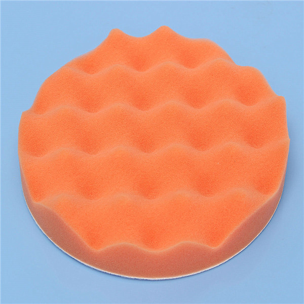 4pcs 7 Inch/180mm Waffle Polishing Buffing Pad Waxing Sponge Polishing for Rotary Tool