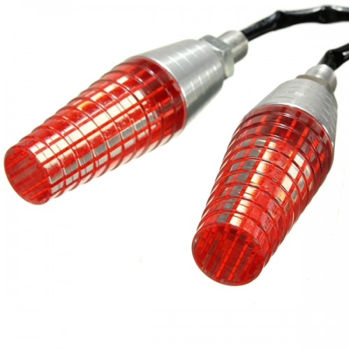 Motorcycle Red LED Turn Signal Indicator 10mm Bolt For MXC EXC KTM Supermoto