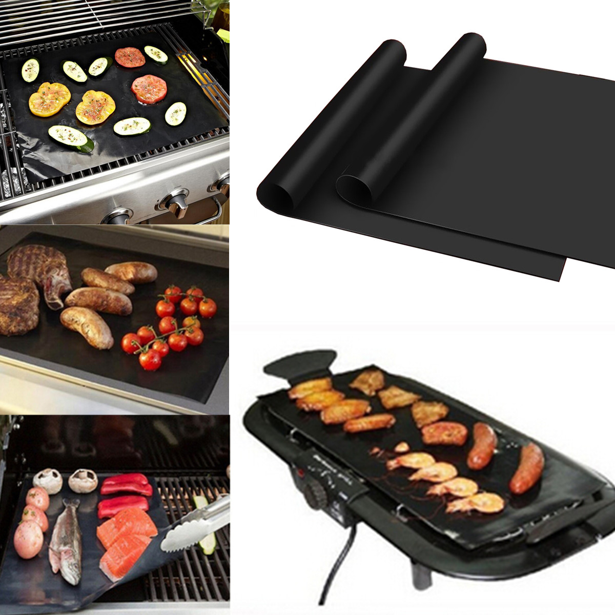 100x40cm non stick bbq grill mat barbecue cake baking mats alex nld - Grille barbecue 70 x 40 ...