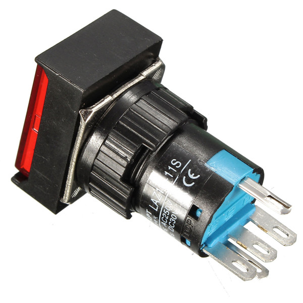 Dc 24v Push Button Self Lock Switch Led Light Momentary