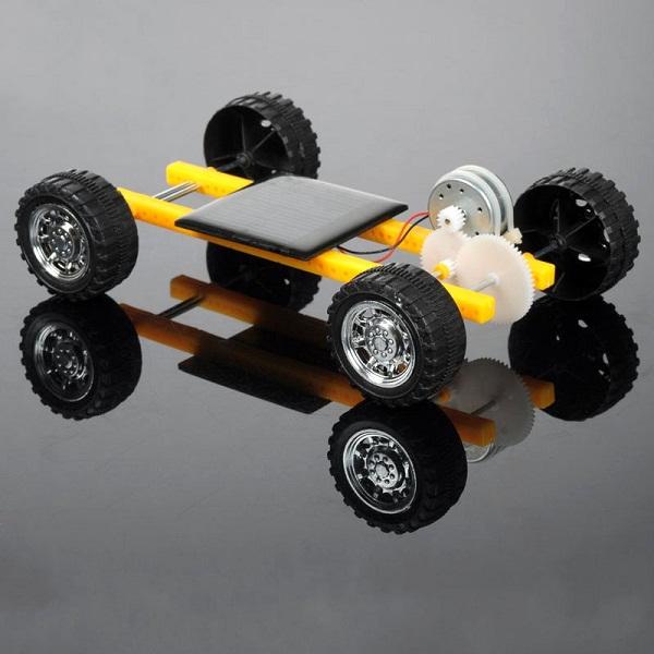 Diy solar power toy mini car for children alex nld for Solar power kids