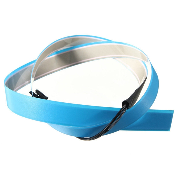 1M Electroluminescent Tape EL Wire Glowing LED Rope Flat Strip Light ...