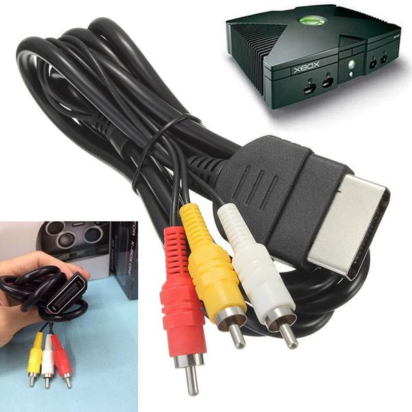 AV Cable RCA Audio Video Composite Cord Lead Wire For Original XBOX ...