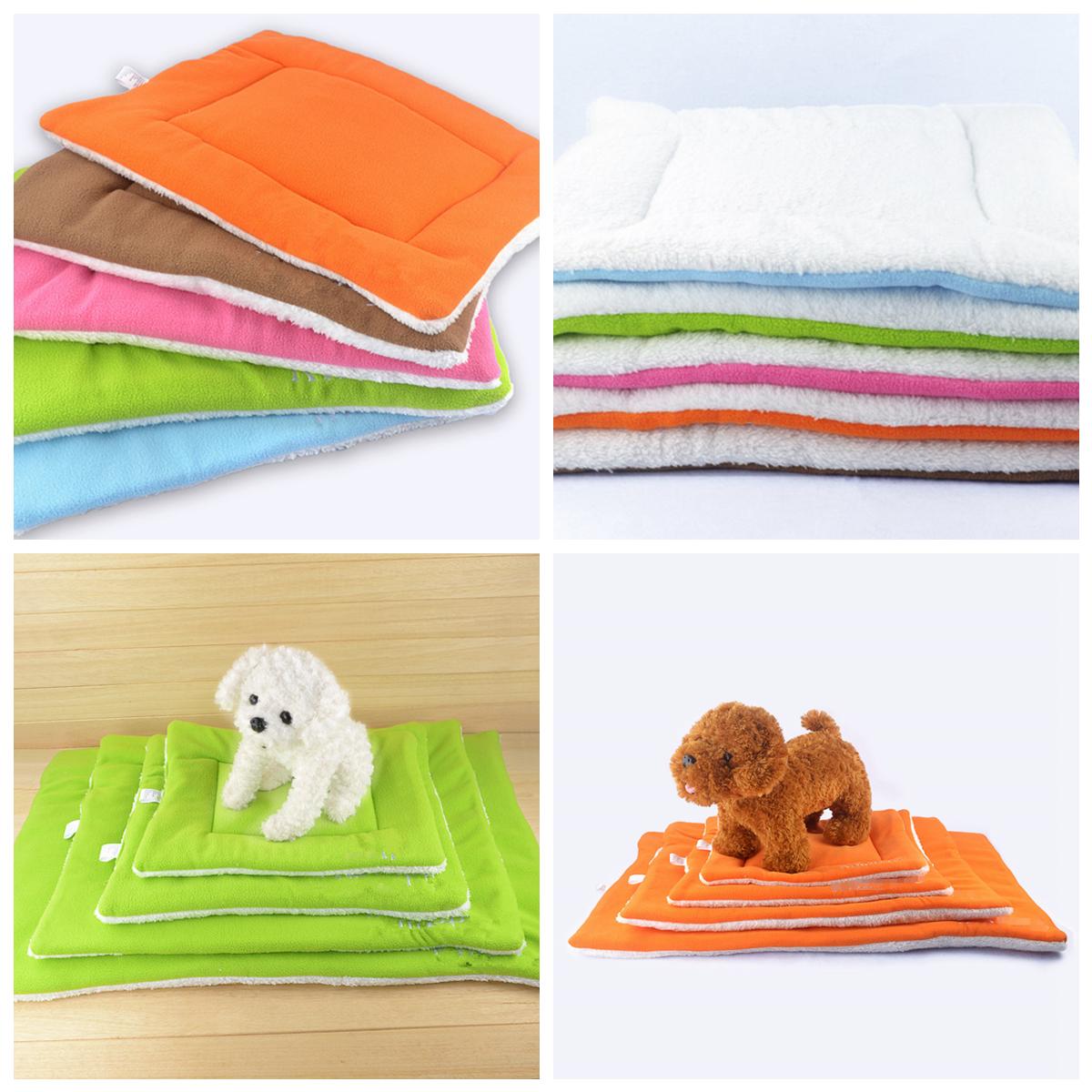 Pet Cat Puppy Dog Warm Kennel Mat Washable Pet Cushion