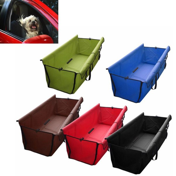 Pet Dog Cat Car Rear Back Seat Waterproof Cover Mat
