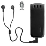 WR-16 Mini Professional 16GB Digital Voice Recorder with Belt Clip, Support WAV Recording Format (Black)