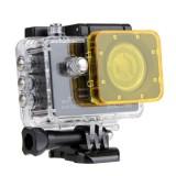 Transparent Lens Filter for SJCAM SJ5000 Sport Camera & SJ5000 Wifi & SJ5000+ Wifi Sport DV Action Camera (Yellow)