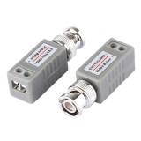 202E-HD CVI/TVI/AHD 1CH Passive Video Balun Coaxial Adapter, Pack of 2