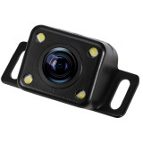 316 4 LED Security Backup Parking Waterproof Rear View Camera, Support Night Vision, Wide Viewing Angle: 120 Degree (Black)