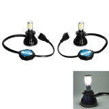 H7-5HL-40W 4000lm / 6000K Car LED Headlight, White Light, DC 9-36V, Pack of 2