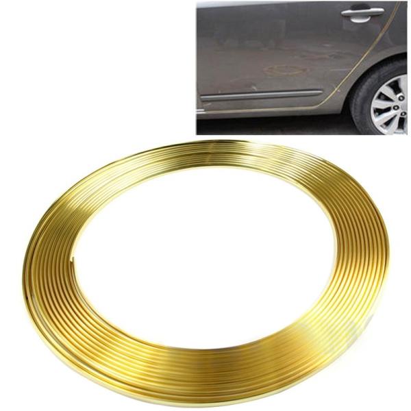Gold Car Auto Truck Door Edge Guard Trim Molding Protector Strip ...