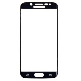 LOPURS 0.2mm 9H Surface Hardness 3D Curved Surface Full Screen Cover Explosion-proof Tempered Glass Film for Samsung Galaxy S6 Edge+ / G928  (Black)