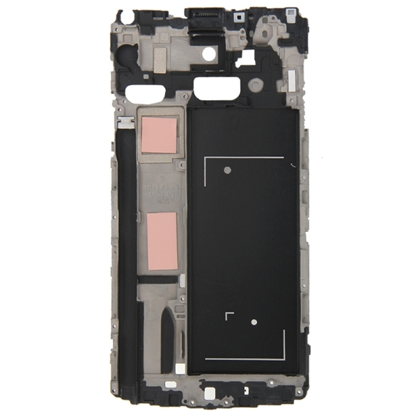 Full Housing Cover Replacement (Front Housing LCD Frame Bezel Plate + Middle Frame Bazel Back Plate Housing Camera Lens Panel + Battery Back Cover Replacement) for Samsung Galaxy Note 4 / N910F (Black)