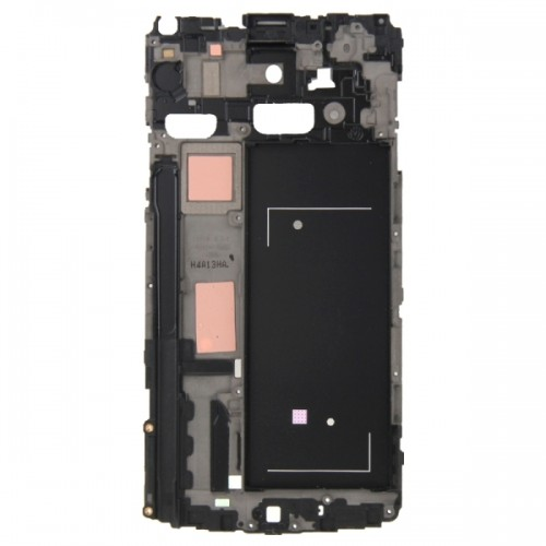 Full Housing Cover Replacement (Front Housing LCD Frame Bezel Plate + Middle Frame Bazel Back Plate Housing Camera Lens Panel + Battery Back Cover Replacement) for Samsung Galaxy Note 4 / N910V (White)