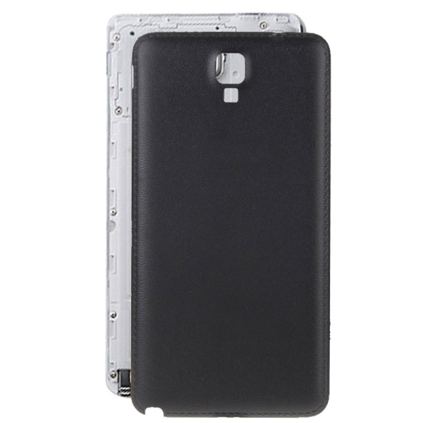 battery back cover replacement for samsung galaxy note 3 neo n7505 black. Black Bedroom Furniture Sets. Home Design Ideas