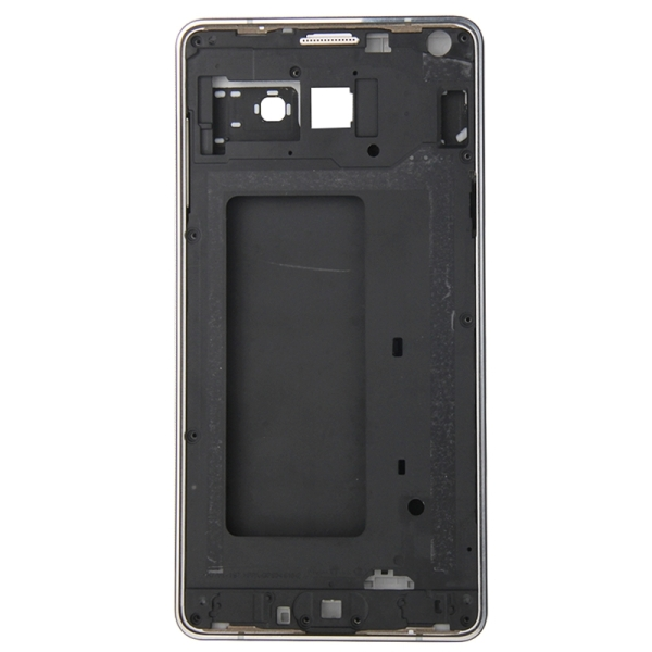 Full Housing Cover Replacement (Front Housing LCD Frame Bezel Plate + Rear Housing Replacement) for Samsung Galaxy A7 / A700 (Blue)